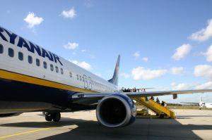 Ryanair's plane