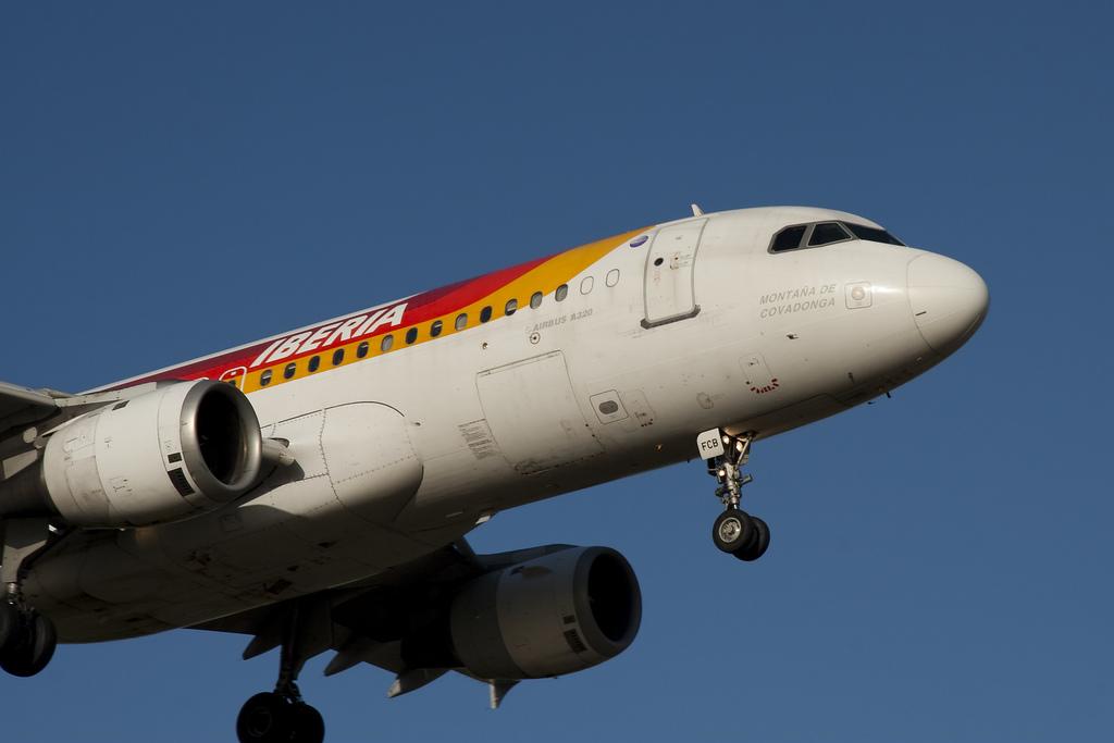 Iberia A320 / Mikebert4