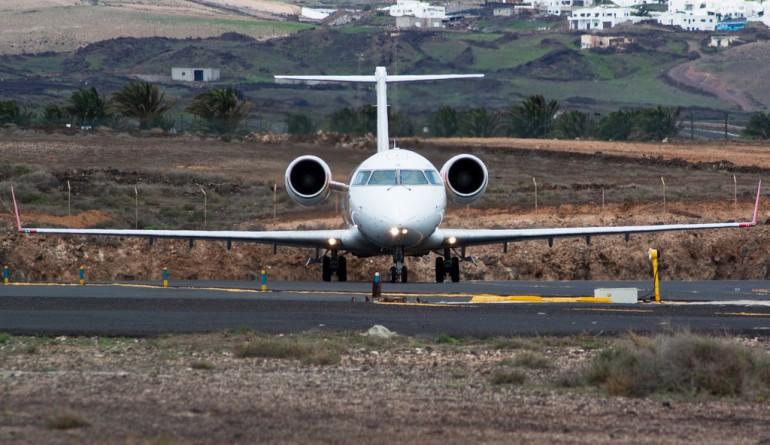 Air Nostrum CRJ-200ER at Lanzarote airport
