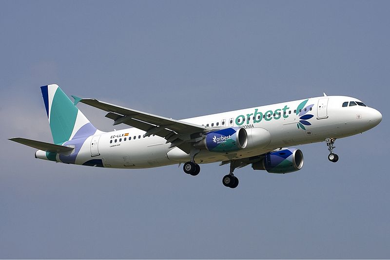 Orbest Orizonia Airlines Airbus A320