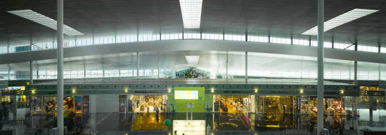 New Barcelona airport terminal