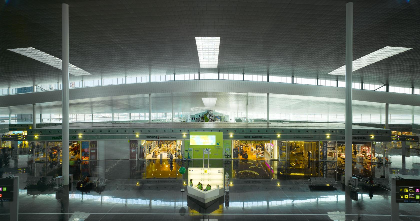 New Barcelona airport terminal