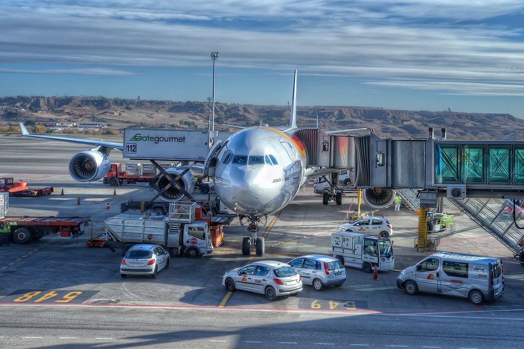 Iberia's plane Terminal 4