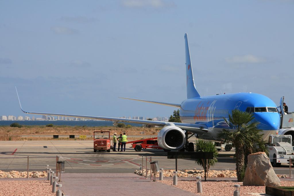 Jetair at Murcia-San Javier airport / Joaquin Vanschoren