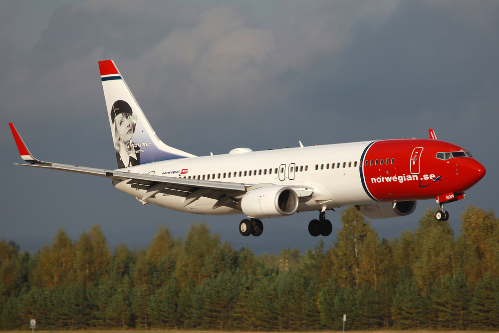 Norwegian aircraft by Markus Mainka / shutterstock.com