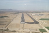 Corvera airport being constructed in June 2012 / Adam Hinett