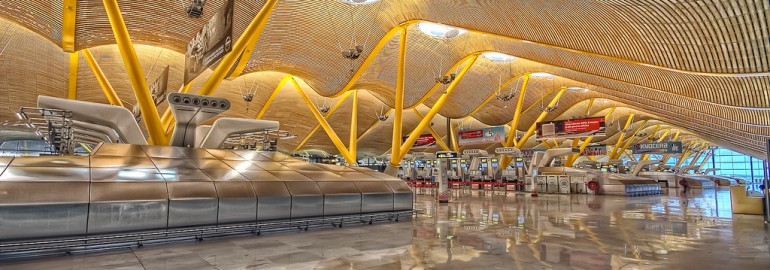 Madrid airport Terminal 4