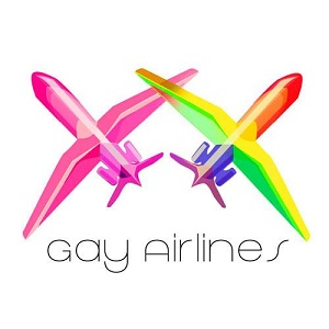 Gay Airlines logo