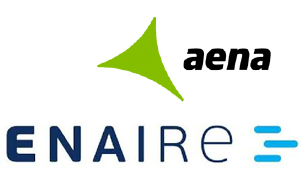 Aena and Enaire new logo