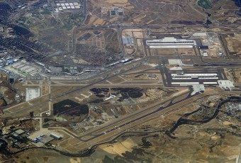 Barajas Airport overview. Photo taken in 2005..