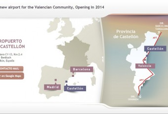 The Castellón Airport Web Site is still under construction