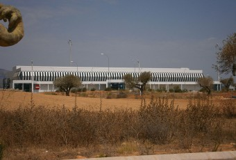 Castellón airport Terminal by Sanbec / Wikimedia Commons.