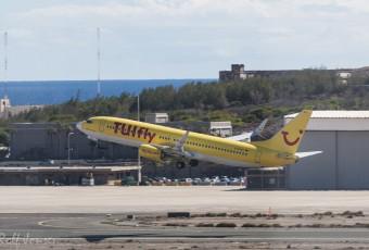 Boeing 737-800 Tuifly Gran canaria airport LPA/ Flickr - Rolf Jonsen
