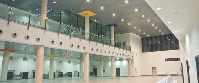 Castellon Airport Terminal in November 2009 by La Veu del País Valencià - Flickr