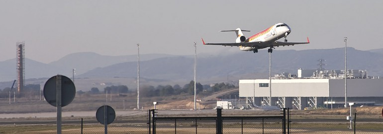 Air Nostrum operating in Ciudad Real Central Airport by Tercera Fundación - Flickr