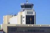 Madrid airport tower by Mathieu Marquer