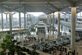 Málaga airport, Terminal 3. Wikimedia Commons.