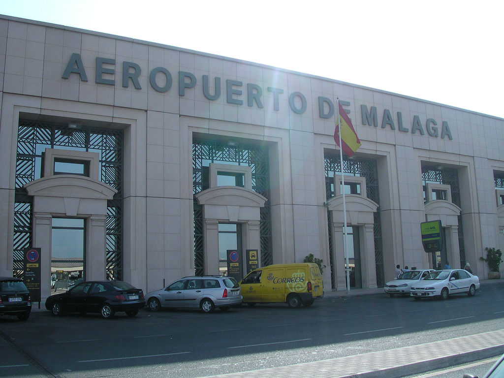 Malaga Airport by Rob Stokes - Flickr